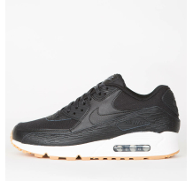 Nike Wmns Air Max 90 Premium Leather Black Sneaker (904535 001)