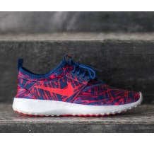 Nike Wmns  Juvenate Print Lyl Blue/ University Red- Bright Crimson Sneaker (749552401  EO4+H)