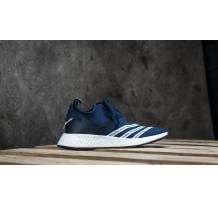 adidas Originals x White Mountaineering NMD R2 Primeknit Core Navy/ White/ White Sneaker (000_BB3072)