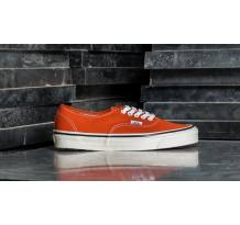Vans Authentic 44 DX (Anaheim Factory) Orange Sneaker (8ENMR8)