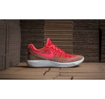 Nike W Lunarepic Low Flyknit 2 Hyper Punch/ Hot Punch Sneaker (863780601)