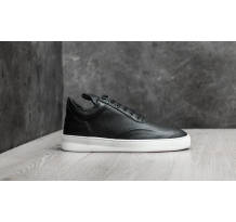 Filling Pieces W Low Top Grain Black Sneaker (297222118610W)