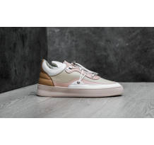 Filling Pieces Low Top Plain Keiko Beige Sneaker (297224219190)