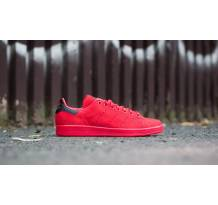 adidas Originals Stan Smith Shock Red/ Shock Red/ Shock Red Sneaker (S80032)