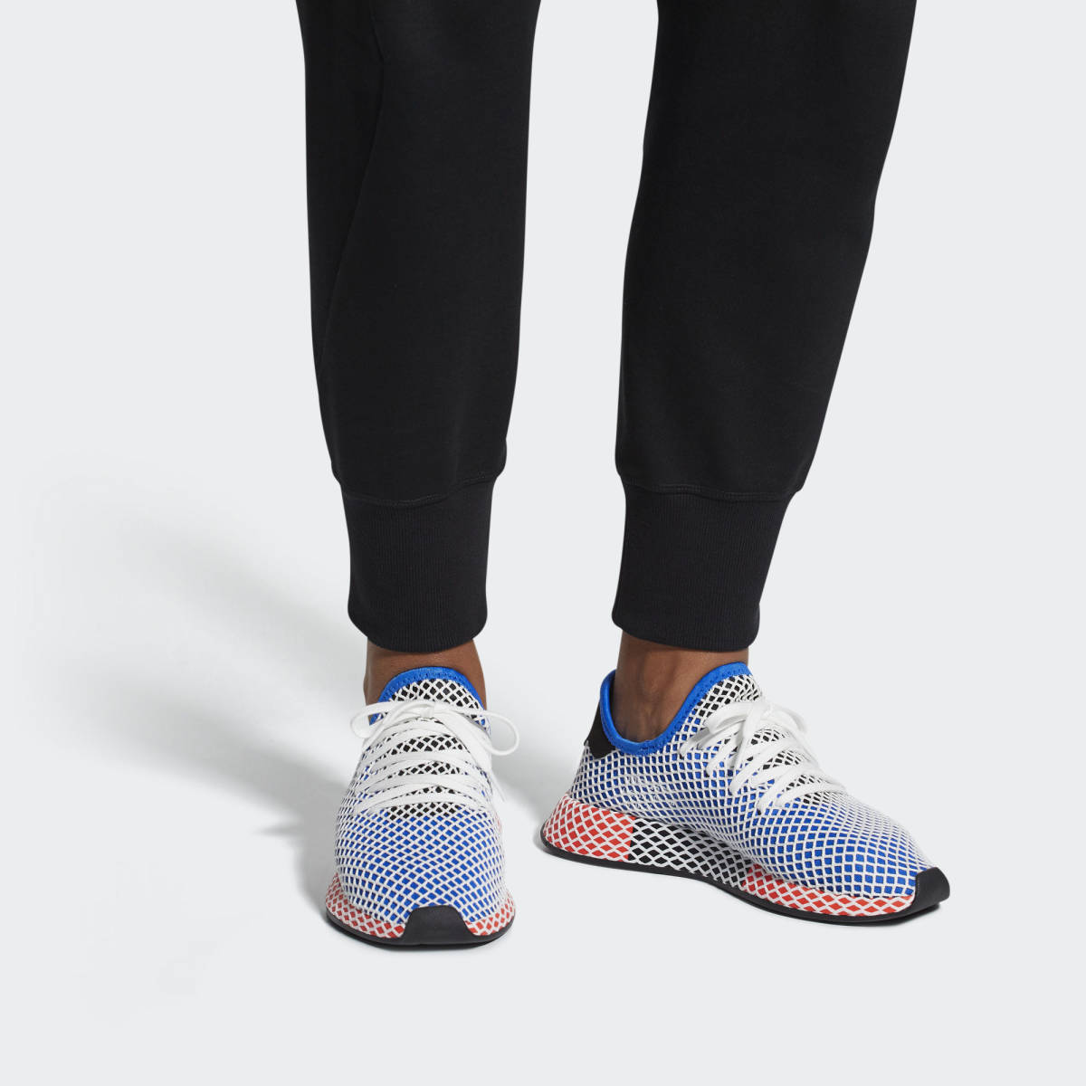 best sneakers e3a00 6cd02 adidas Originals Deerupt Runner in blau - AC8704  everysize