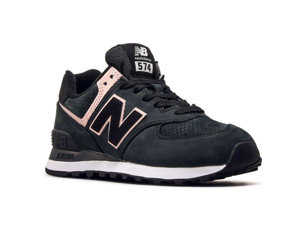 New Balance WL574NBK in schwarz 658271 50 8 | everysize