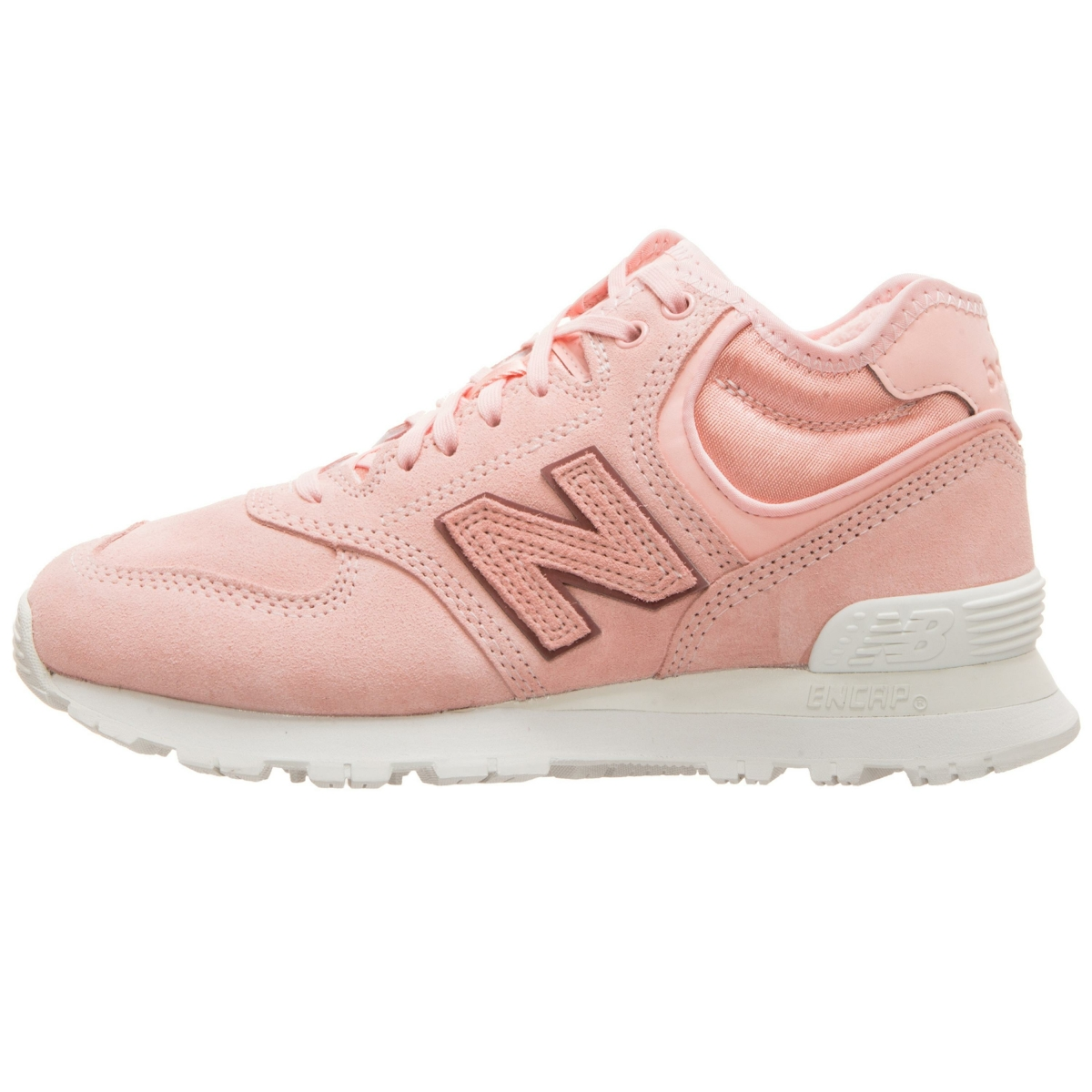 New Balance WH 574 B BA in pink 678011 50 13   everysize