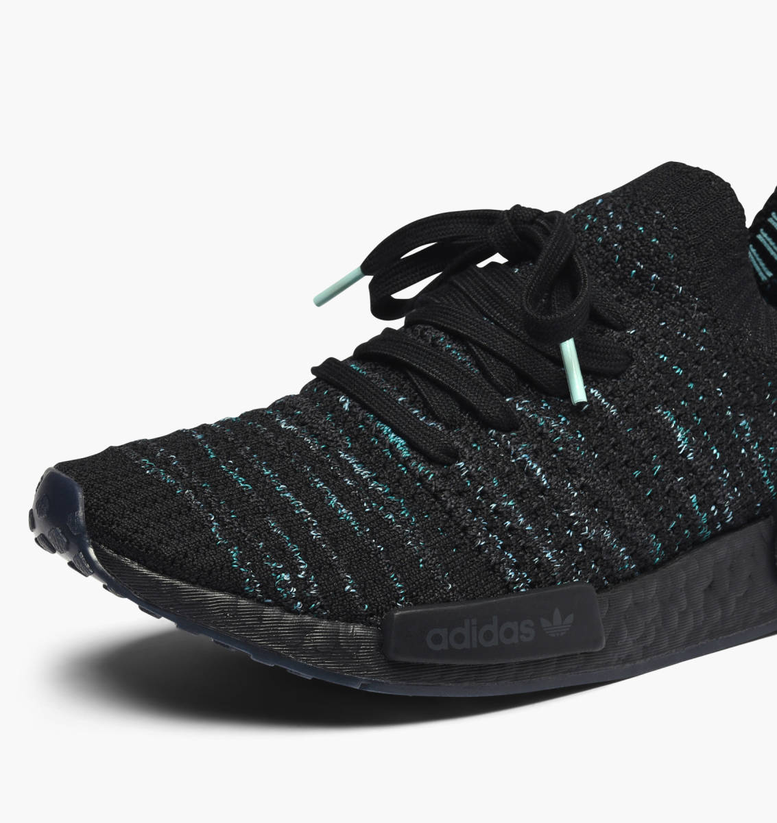 wholesale dealer e77d1 36e3a adidas Originals NMD R1 STLT Parley in schwarz - AQ0943 | everysize