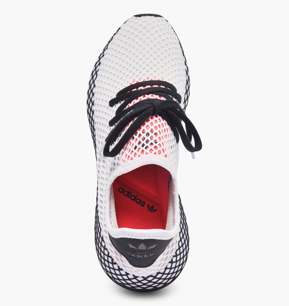 low priced 555c0 a339f adidas Originals Deerupt Runner in weiss - DB2686  everysize