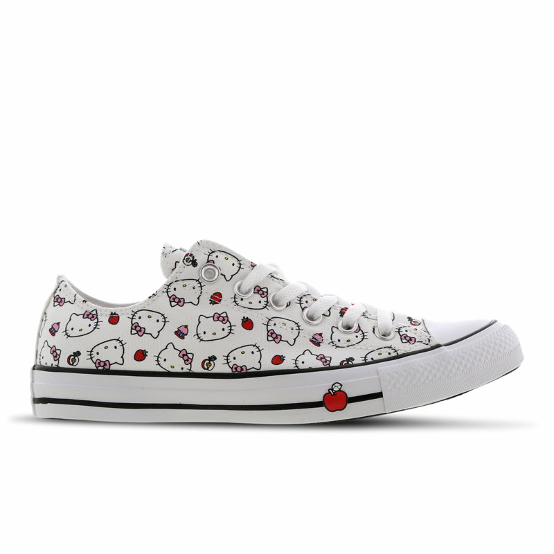 Converse Chuck Taylor All Star X Hello Kitty Low in weiss