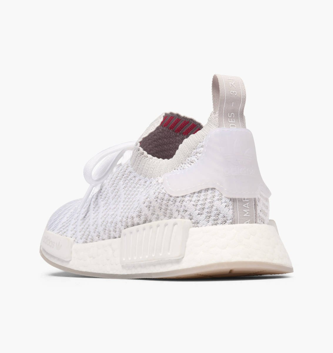 0a6b1776e37d4 adidas Originals NMD R1 STLT PK in weiss - CQ2390