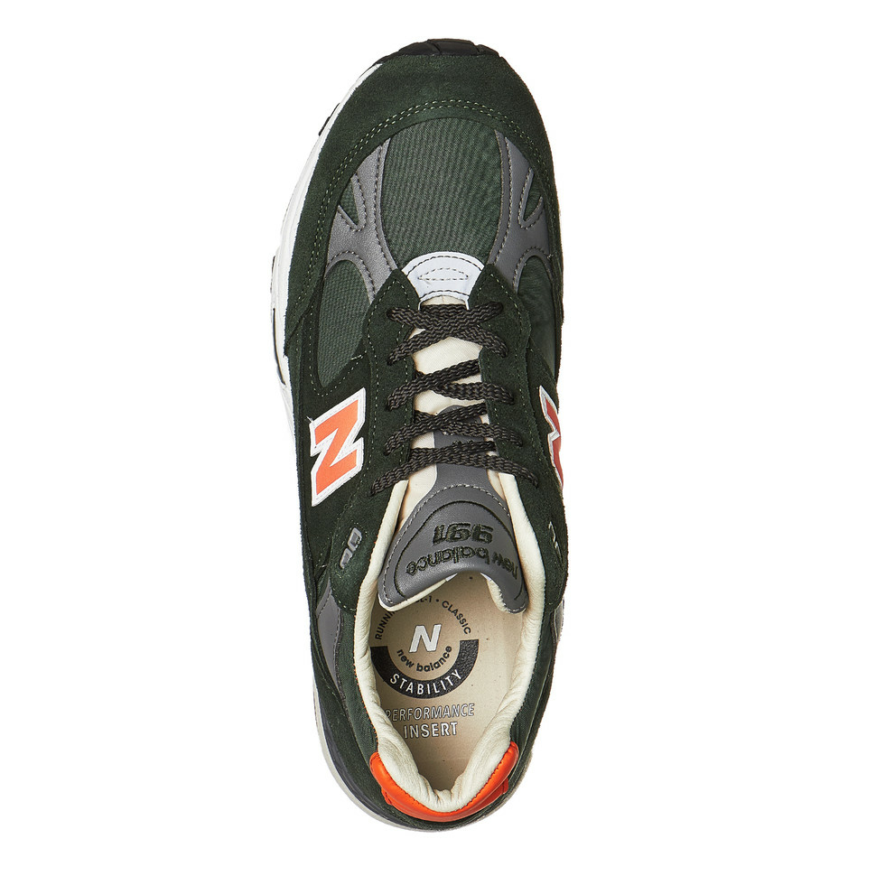 61d6e2de1d7e7 New Balance M991TNF in grün - 702211-60-6 | everysize