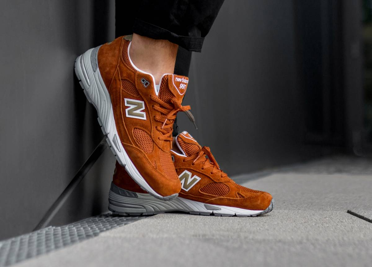 wholesale dealer 554b5 f4634 New Balance Made In in orange - M991SE   everysize
