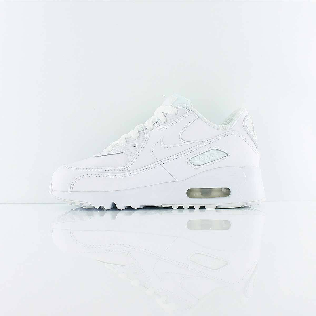 Nike Air Max 90 Leather PS in weiss 833414 100   everysize