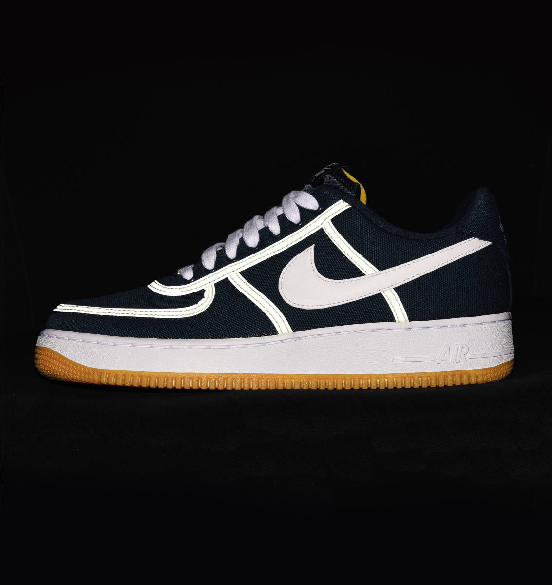official photos c64e3 cf2c7 Nike Air Force 1 07 PRM in blau - CI9349-400   everysize