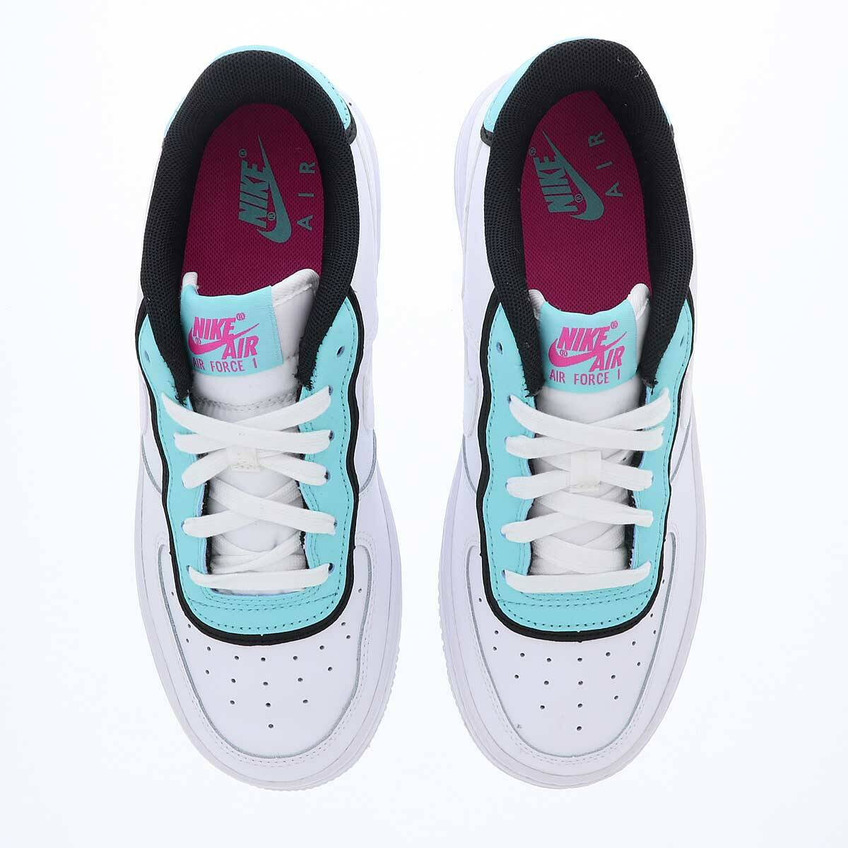 the best attitude 54169 48fb0 Nike Air Force 1 LV8 Dbl Gs in weiss - BV1084-100   everysize