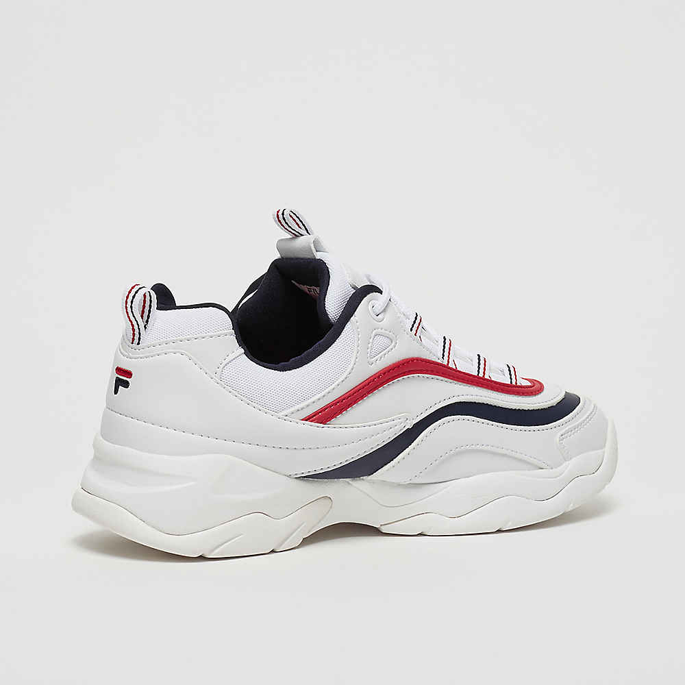 FILA Heritage Ray Low WMN in weiss 1010562.150 WHITEFILA NAVYFILA RED | everysize