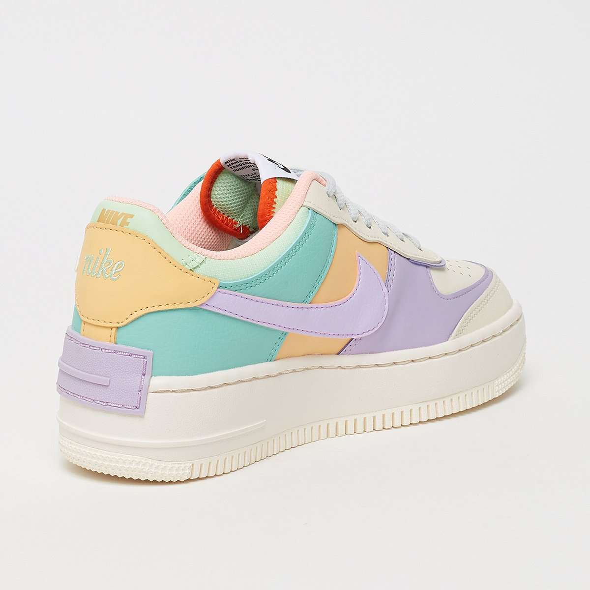 Nike Wmns Air Force 1 Shadow in bunt CI0919 101 | everysize