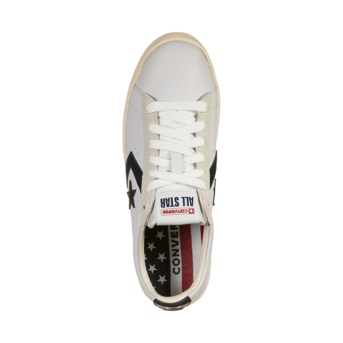 Mens shoes Converse Pro Leather OG Mid White/ Obsindian