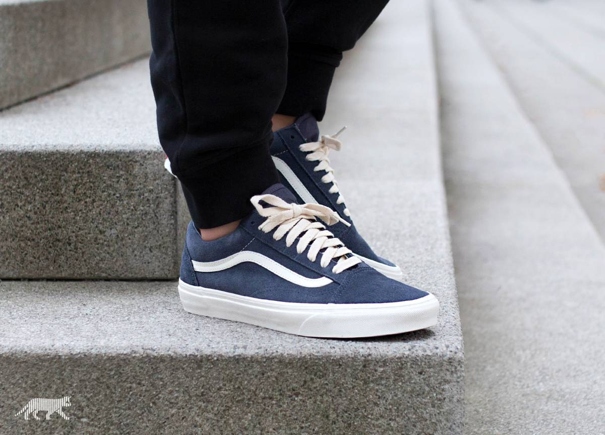vans old skool herringbone lace