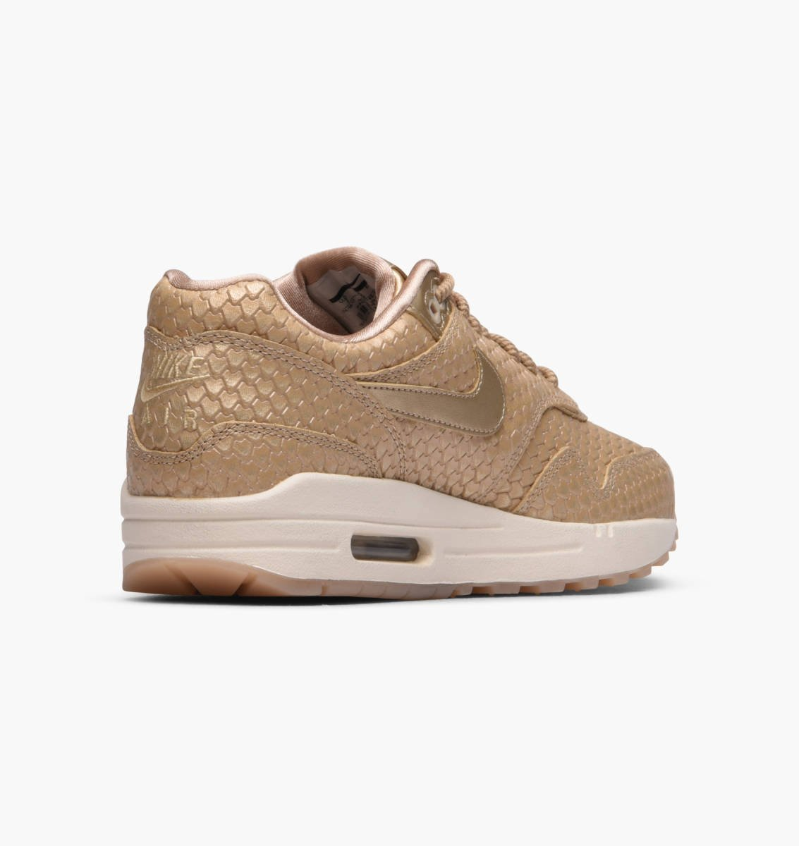 Nike Wmns Air Max 1 Premium 454746 900 beige| Orange Jungle