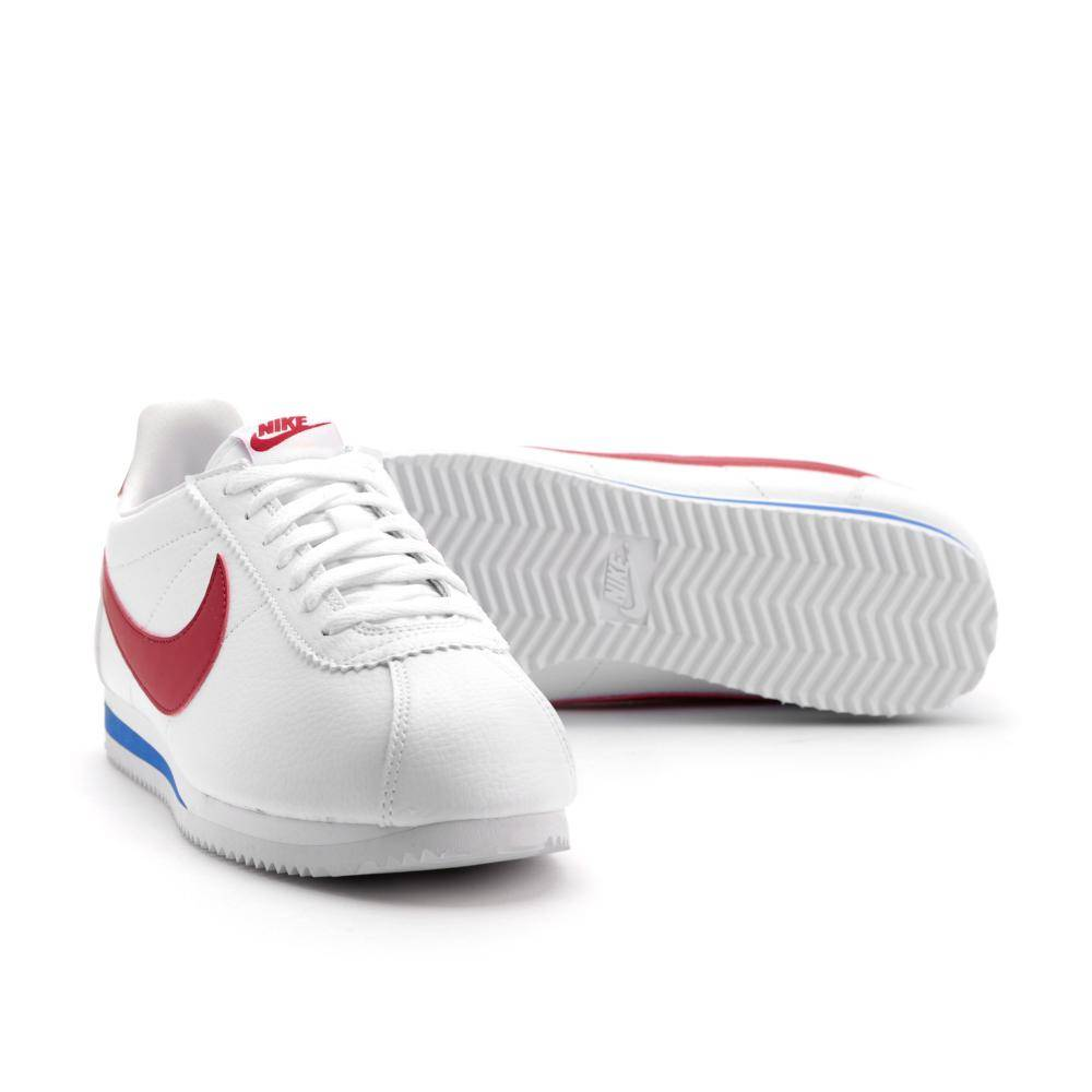 nike classic cortez leather in weiss 749571 154 everysize. Black Bedroom Furniture Sets. Home Design Ideas